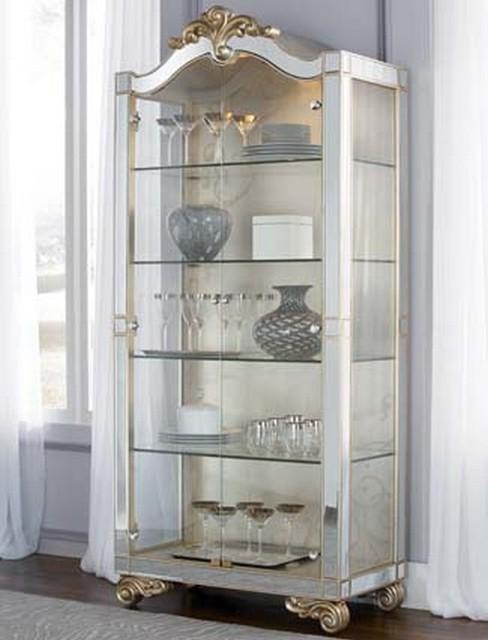 American Drew 908-855 Jessica Mcclintock Couture Curio Cabinet - Traditional - Atlanta - by ...