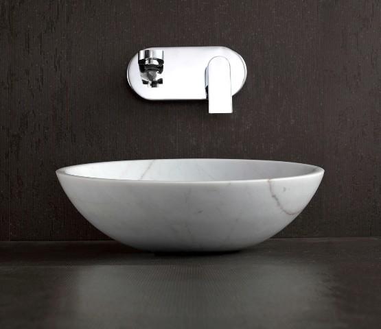 Marble Basin : Apollo - White Stone Countetop Basin - Modern - Bathroom Basins ...