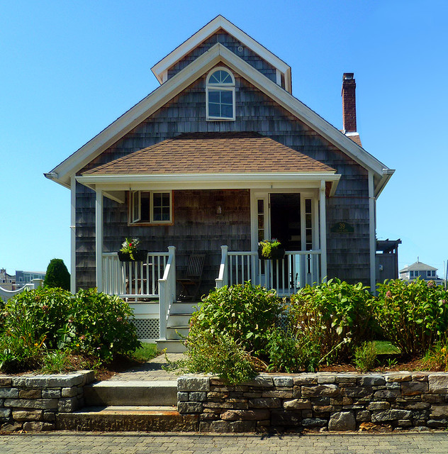 Exteriors new england ocean front designs toronto by for Ocean front home designs