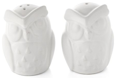 Owl salt pepper shakers - Owl salt and pepper grinders ...