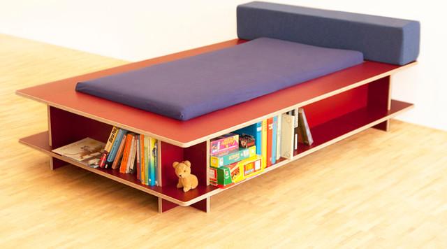 kinderm bel modern kinderbetten other metro von. Black Bedroom Furniture Sets. Home Design Ideas