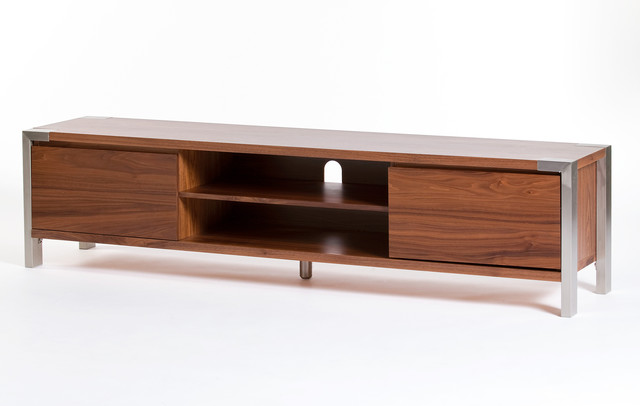 winton tv table large walnut modern entertainment centers and tv