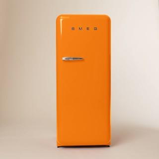 Smeg Refrigerator, Orange - Modern - Refrigerators - by West Elm
