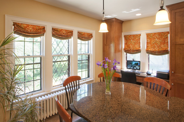 Historic Home Window Treatments Traditional Roman Shades Milwaukee By Leslie Dohr