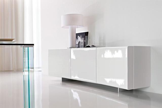 bay sideboard by cattelan italia bauhaus look. Black Bedroom Furniture Sets. Home Design Ideas