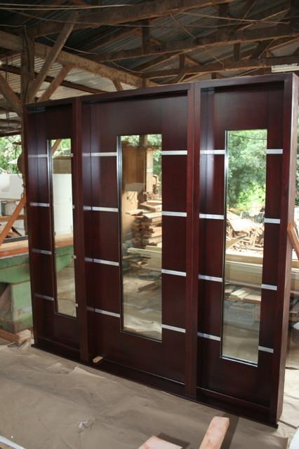 Modern Front Door Modern Front Doors Miami By Mahogany De Honduras