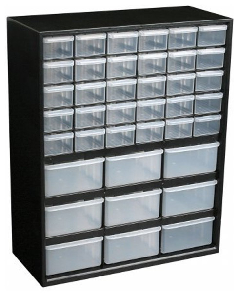 Small Parts Organizer - 39 Drawer - Garage And Tool Storage - detroit - by Organize-It