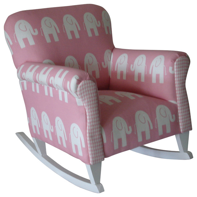 Toddler Upholstered Rocking Chair