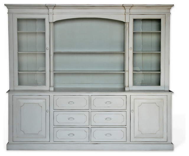 Lawson Hutch - Traditional - China Cabinets And Hutches ...