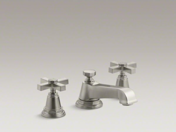 KOHLER Pinstripe R Pure Widespread Bathroom Sink Faucet