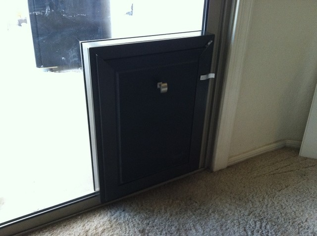 Pet Doors In Sliding Glass French And Standard Doors