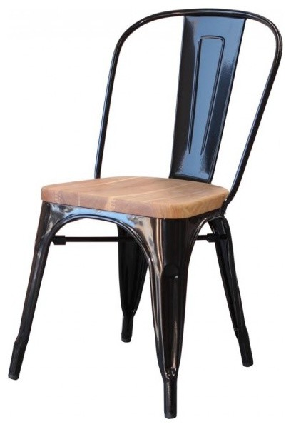 marias wooden seat chair contemporary dining chairs