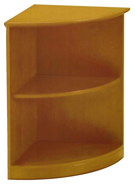 Small corner bookcase contemporary bookcases by for Modern corner bookshelf
