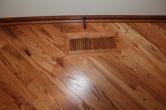 1300 sq. Red Oak Stain
