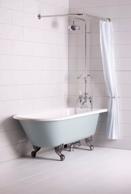 Trident Roll Top Corner Bath The Albion Bath Company Traditional Baths