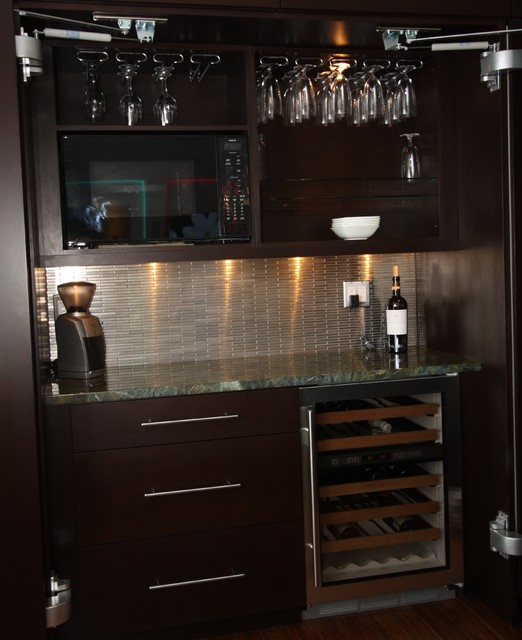 Mini Bar - Contemporary - Kitchen - cleveland - by Architectural Justice