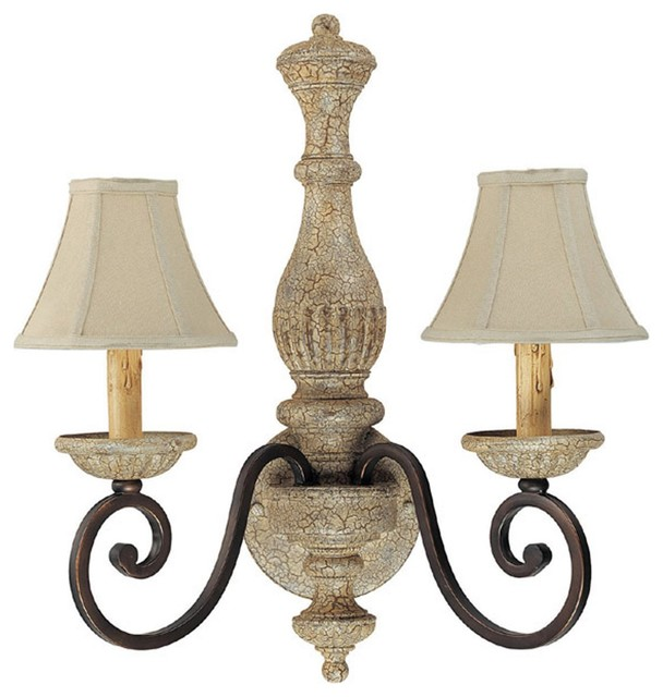 Capital Lighting Saddlebrook Traditional Wall Sconce X-234-BA2561 - Traditional - Wall Sconces