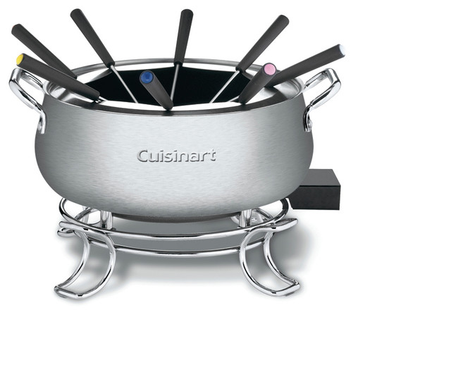 cuisinart 3 quart electric fondue set contemporary fondue and raclette sets by the cooking. Black Bedroom Furniture Sets. Home Design Ideas