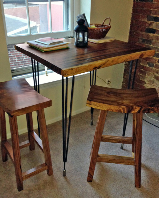 Custom High Bar Dining Table Transitional Dining