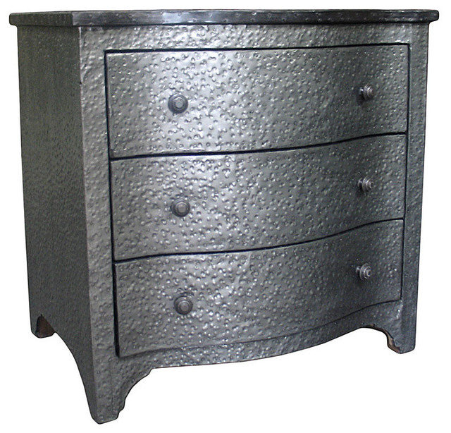 Metal Small Chest - Transitional - Accent Chests And ...