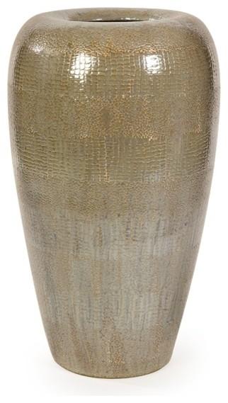 Tiago Tall Floor Vase Modern Vases By Uber Bazaar