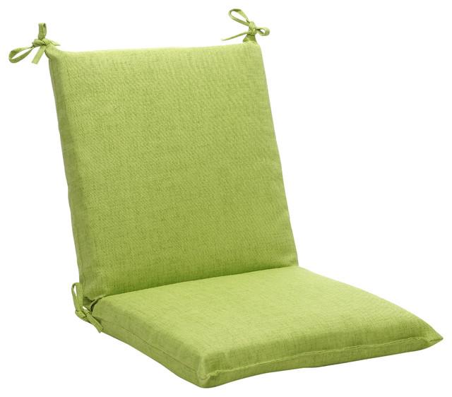 baja lime green squared corners chair cushion. Black Bedroom Furniture Sets. Home Design Ideas