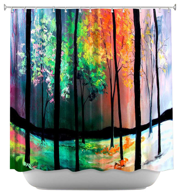 Shower Curtain Unique From Dianoche Designs The Four