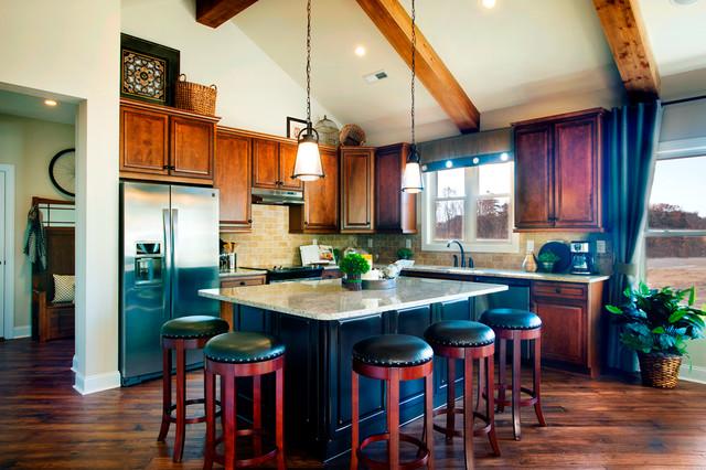 Kitchen by schumacher homes traditional kitchen for Schumacher homes catawba