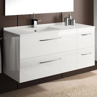 Strada Medium Vanity Modern Bathroom Vanity Units Sink Cabinets B