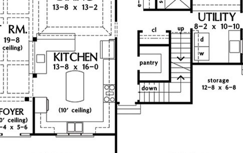i need some help figuring out how to lay out this kitchen