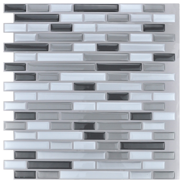 peel and stick kitchen backsplash wall tiles 12 x12 10