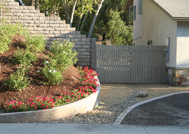 landscape planter thousand oaks ca contemporary