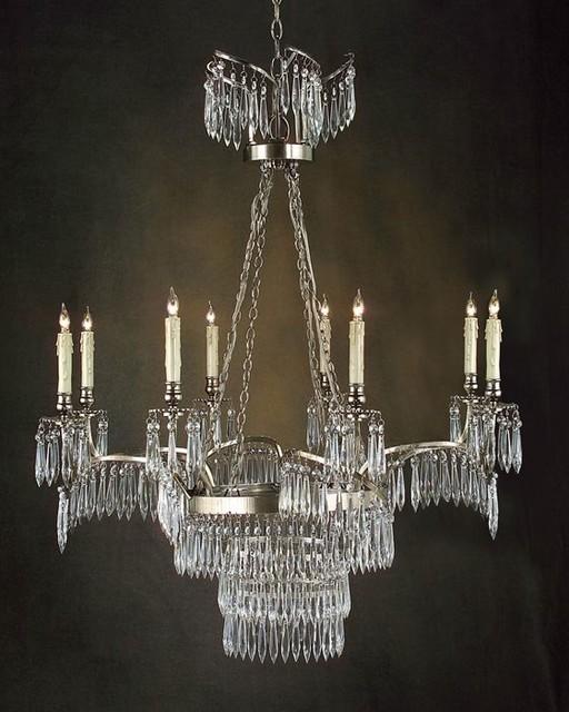 john richard 8 light chandelier ajc 8531 modern. Black Bedroom Furniture Sets. Home Design Ideas
