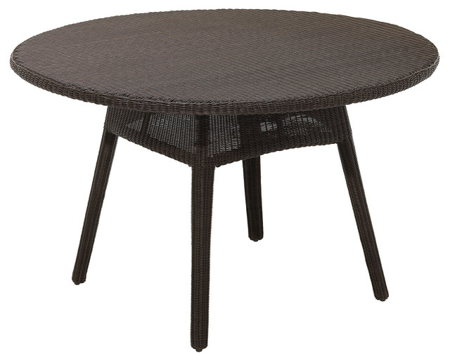 Casablanca 51 Round Dining Table Contemporary Outdoor Dining Tables