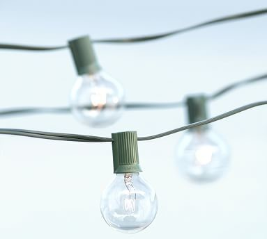 Globe String Lights 20 Light Traditional Outdoor Rope And String Lights