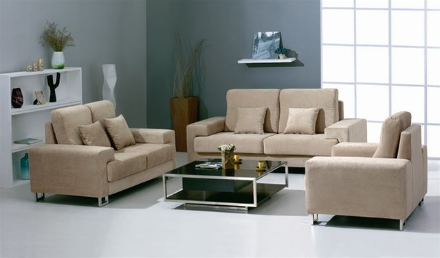 The Martino Fabric Sofa Set 2812 Modern Living Room Furniture Sets By