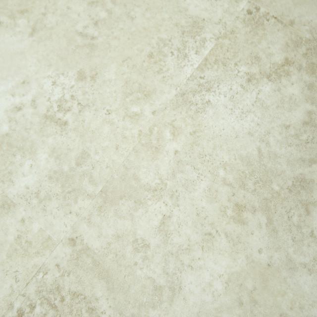 Timeless designs stone click lvt white sands 4mm vinyl for Industrial stone vinyl tile