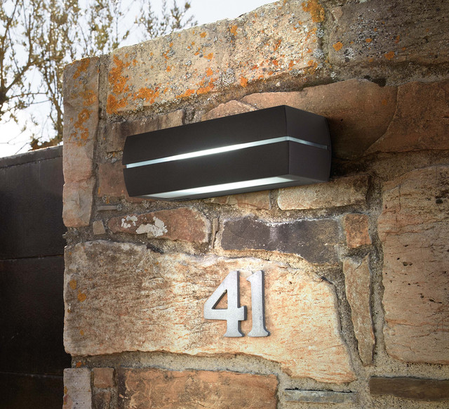 Jardin Wall Lights : Eclairer sa terrasse, son balcon ou son jardin - Contemporary - Outdoor Wall Lights - other ...