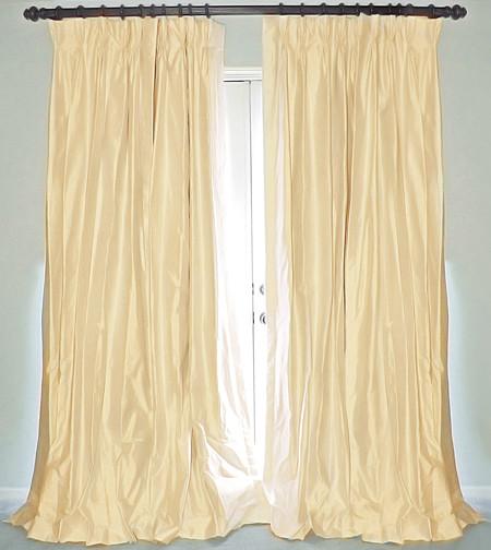 100 Pure Silk Dupioni Fabric Cream X Ivory 54 With Slubs