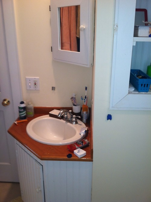 Need to redesign bathroom for normal sized people for Normal bathroom designs