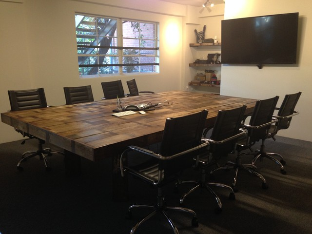 Reclaimed wood conference table for Buy reclaimed wood los angeles