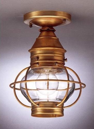 northeast lantern small antique brass caged onion outdoor