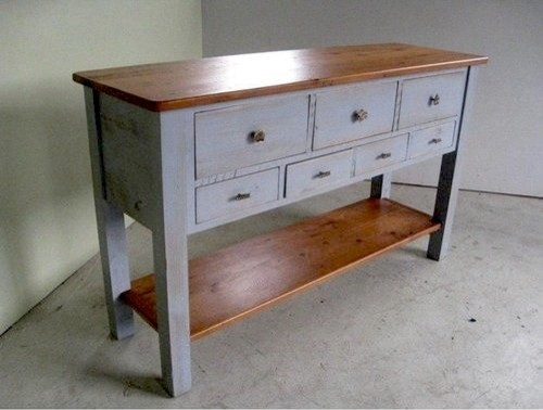 Kitchen Buffet Table : 5ft Pine Sideboard Console Table - Farmhouse - Buffets And Sideboards ...