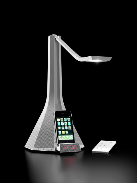 ladiva led reading light music system w iphone dock rotaliana