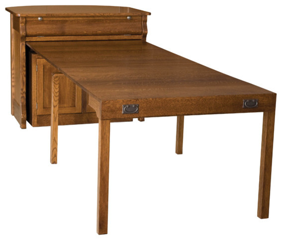 Frontier Island Buffet With Pullout Table - Traditional - Dining Tables - Other - by Amish ...
