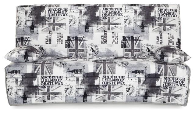 Union jack couette pour clic clac 130cm contemporain - Housse clic clac originale ...