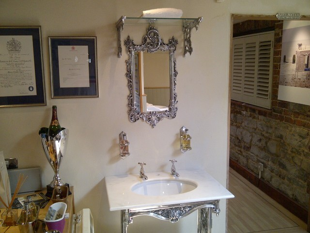 New  Mirror  Traditional  Bathroom Mirrors  By Custom Furniture World