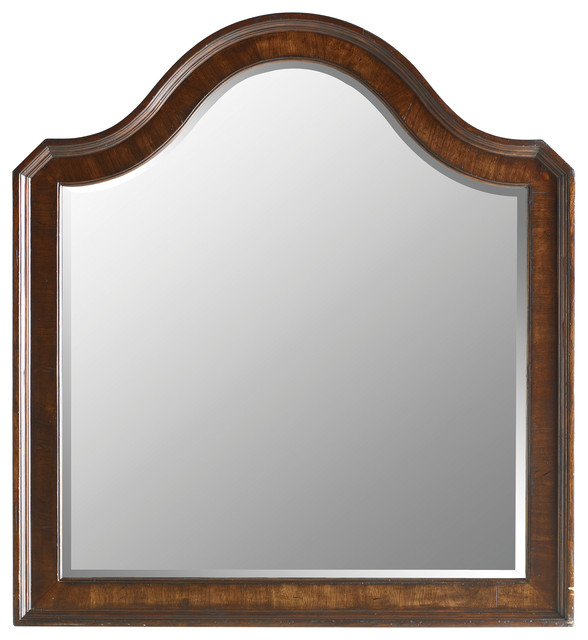 Stanley Furniture Continental Bedroom Landscape Mirror - Contemporary ...