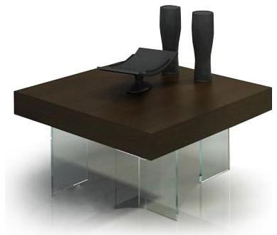 dark walnut coffee table : axiomatica