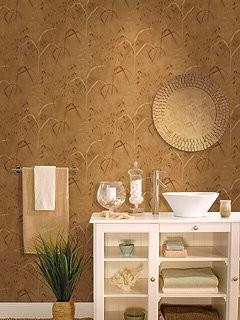 Wallcoverings bathroom asian wallpaper miami by for Bathroom wallpaper wall coverings